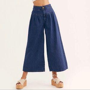 NWT Free People La Bomba Wide-Leg Jeans Sz 27